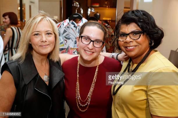 Hilary Rosen Managing Director SKDK Rebecca Kutler CNN Executive and April Ryan White House Correspondent American Urban Radio Networks kick off the...