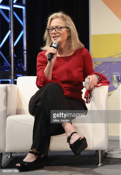 Hilary Rosen speaks onstage at Time's Up Shifting the Imbalance of Power during SXSW at Austin Convention Center on March 11 2018 in Austin Texas