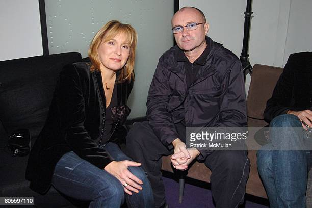 Hilary Shor and Phil Collins attend DIANE VON FURSTENBERG After Show Party Sponsored by IMPERIA VODKA at Diane von Furstenberg Studio on February 5...