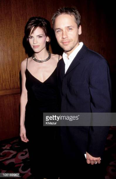 Hilary Swank and Chad Lowe during 11th Annual GLAAD Media Awards New York at The Hilton Hotel in New York City New York United States
