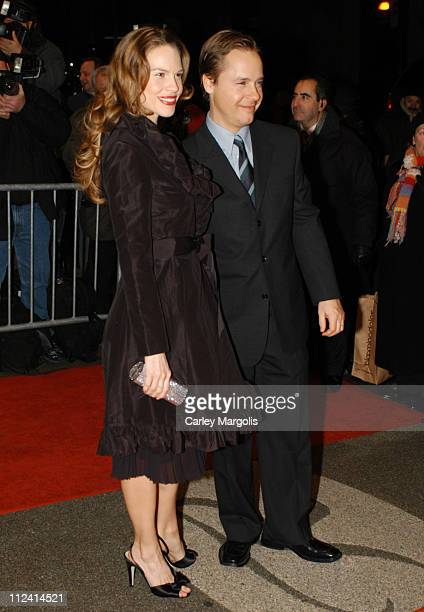 Hilary Swank and Chad Lowe during 2005 New York Film Critics Circle Awards Dinner at The Roosevelt Hotel in New York City New York United States