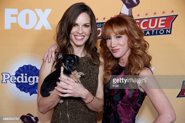 Hilary Swank and Kathy Griffin attend the second annual THE ALLSTAR DOG RESCUE CELEBRATION a oneofakind event celebrating Americas rescue dogs airing...