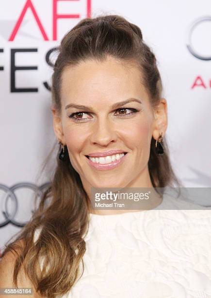 Hilary Swank arrives at AFI FEST 2014 Presented By Audi The Homesman premiere held at Dolby Theatre on November 11 2014 in Hollywood California