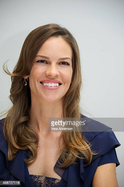 Hilary Swank at 'The Homesman' Press Conference at the Four Seasons Hotel on November 6 2014 in Beverly Hills California