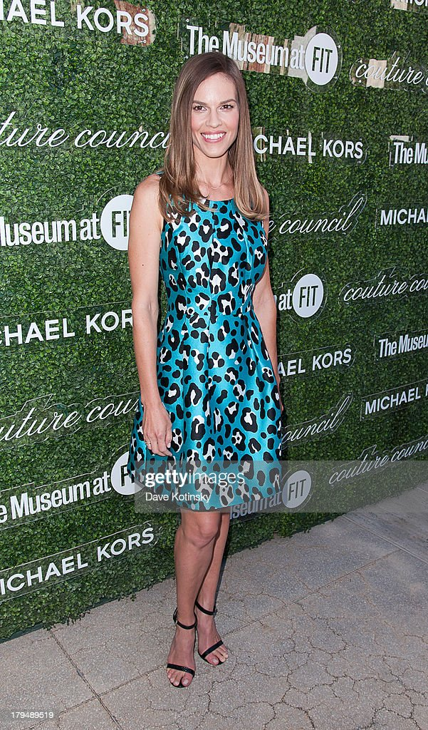 Hilary Swank attends 2013 Couture Council Fashion Visionary Awards at David H. Koch Theater, Lincoln Center on September 4, 2013 in New York City.