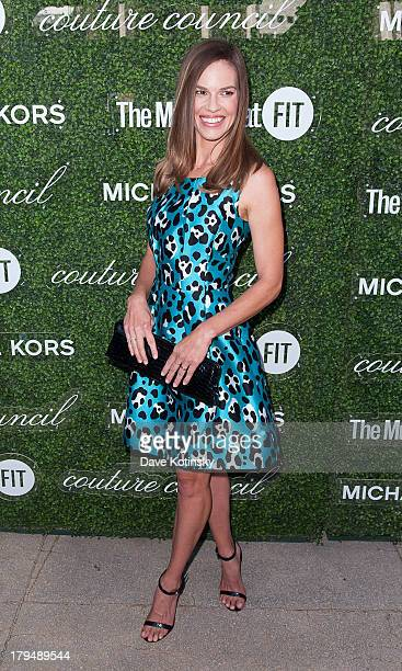 Hilary Swank attends 2013 Couture Council Fashion Visionary Awards at David H Koch Theater Lincoln Center on September 4 2013 in New York City