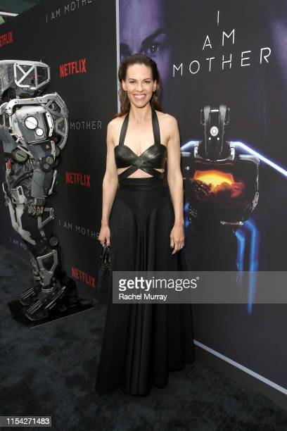 Hilary Swank attends a special screening of Netflix's I AM MOTHER at Arclight Hollywood on June 06 2019 in Los Angeles California