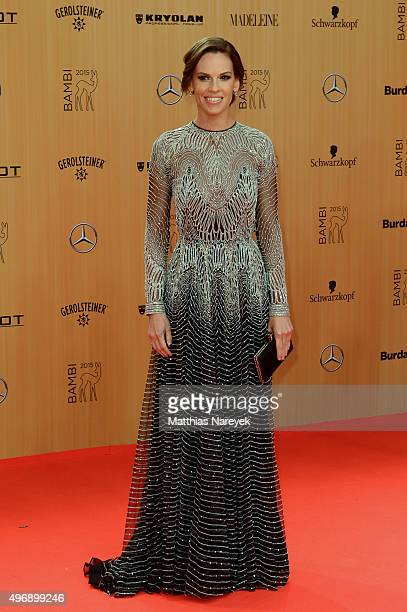 Hilary Swank attends the Bambi Awards 2015 at Stage Theater on November 12 2015 in Berlin Germany