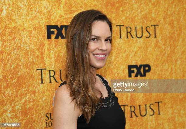 Hilary Swank attends the For Your Consideration Event for FX's Trust at Saban Media Center on May 11 2018 in North Hollywood California