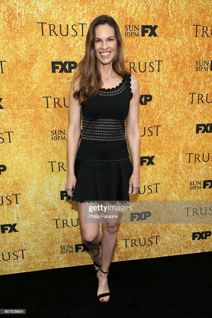 Hilary Swank attends the For Your Consideration Event for FX's 'Trust' at Saban Media Center on May 11, 2018 in North Hollywood, California.
