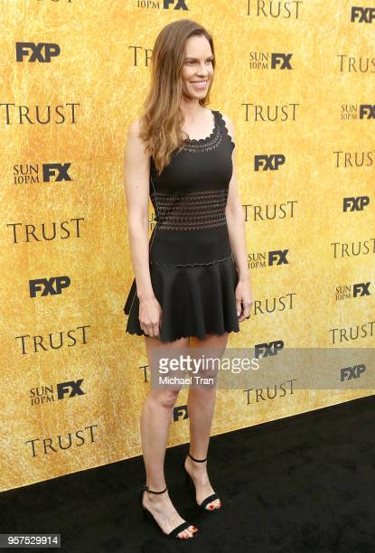 Hilary Swank attends the for your consideration event for FX's 'Trust' held at Saban Media Center on May 11 2018 in North Hollywood California