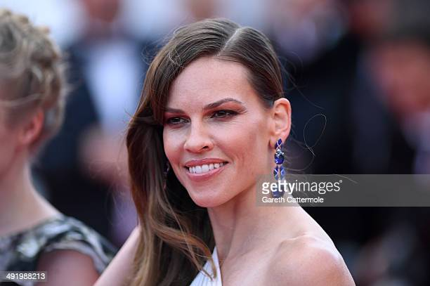 Hilary Swank attends The Homesman premiere during the 67th Annual Cannes Film Festival on May 18 2014 in Cannes France