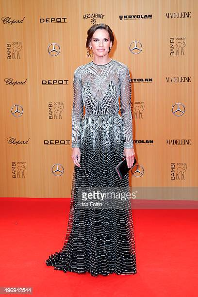 Hilary Swank attends the Kryolan At Bambi Awards 2015 Red Carpet Arrivals on November 12 2015 in Berlin Germany