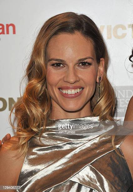 Hilary Swank attends the premiere of 'Conviction' 54th BFI London Film Festival at Vue West End on October 15, 2010 in London, England.