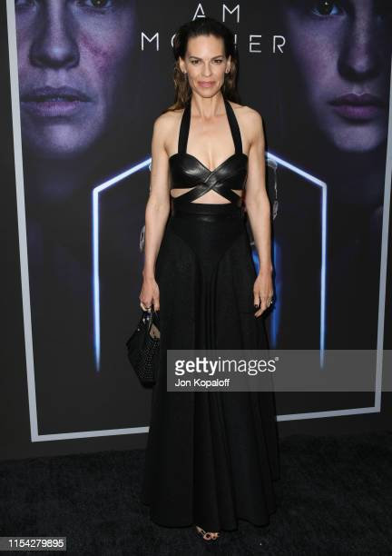 Hilary Swank attends the LA Special Screening Of Netflix's I Am Mother at ArcLight Hollywood on June 06 2019 in Hollywood California