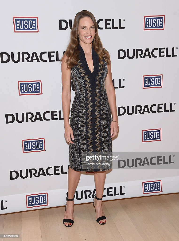 "USO's ""Comfort Crew For Military Kids"" Event Hosted By Hillary Swank"