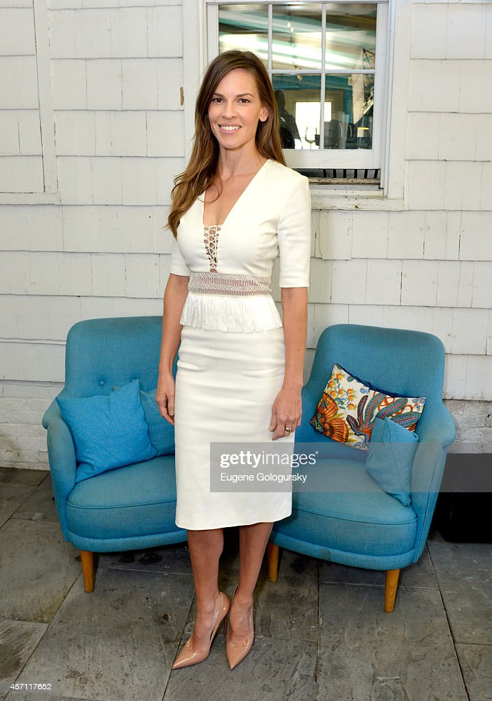 Hilary Swank attends Variety's 10 Actors To Watch Brunch with Hilary Swank during the 2014 Hamptons International Film Festival on October 12, 2014 in East Hampton, New York.