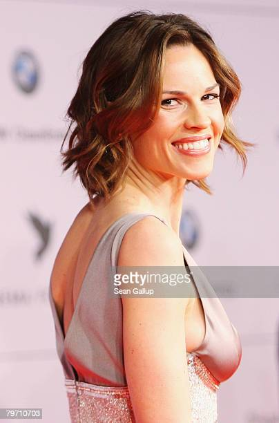 Hilary Swank during 7th Annual Cinema For Peace Gala sponsored by BMW CleanEnergy part of the 58th Berlinale International Film Festival held at the...