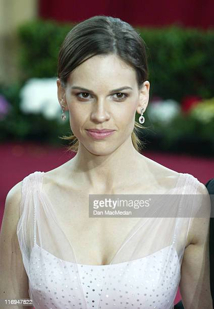 Hilary Swank during The 75th Annual Academy Awards Arrivals at The Kodak Theater in Hollywood California United States