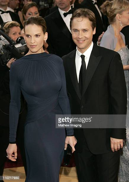 Hilary Swank nominee Best Actress in a Leading Role for Million Dollar Baby and Chad Lowe