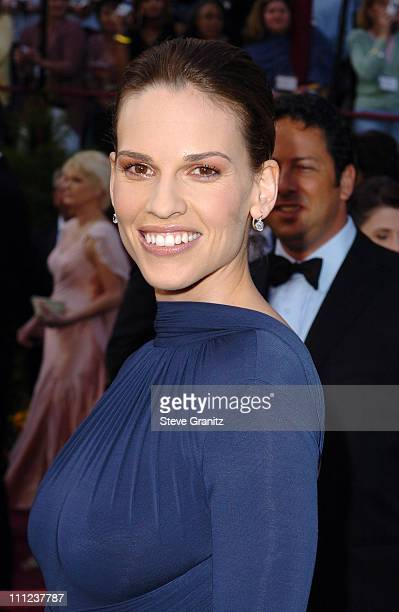 Hilary Swank nominee Best Actress in a Leading Role for 'Million Dollar Baby'