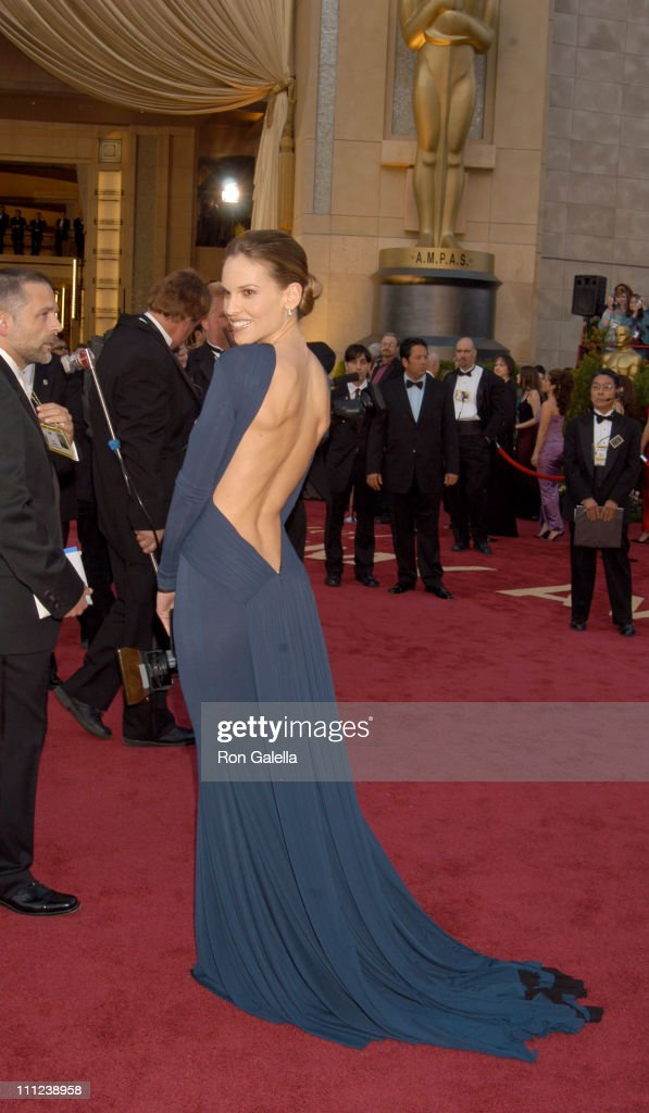 Hilary Swank, nominee Best Actress in a Leading Role for 'Million Dollar Baby'