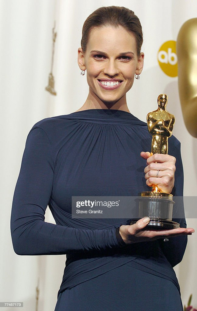 Hilary Swank, winner Best Actress in a Leading Role for 'Million Dollar Baby'