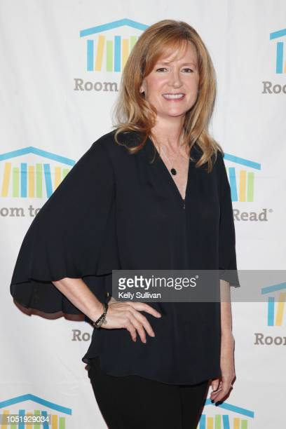 Hilary Valentine attends Room To Read 2018 International Day Of The Girl Benefit at One Kearny Club on October 11 2018 in San Francisco California