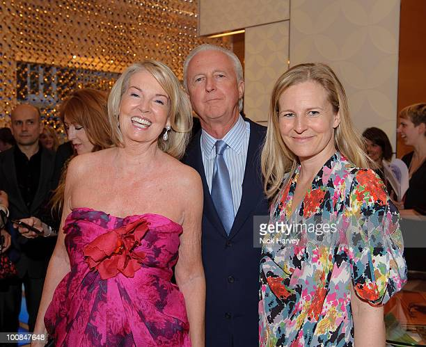 Hilary Weston Galen Weston and Alannah Weston attend the launch of the Louis Vuitton Bond Street Maison on May 25 2010 in London England