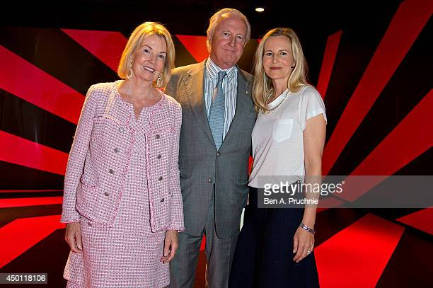 Hilary Weston Galen Weston and Alannah Weston attends the Pinkification of Young Girls talk held at the Salon a popup forum for talks launched as...