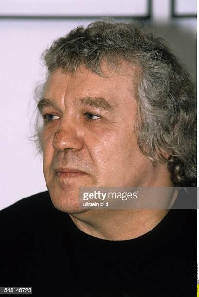 Hilbig Wolfgang * Schriftsteller Dichter D Portrait 1996