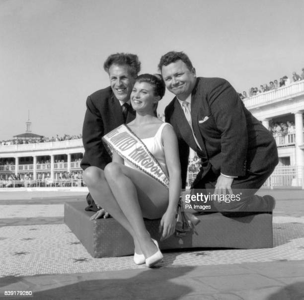 Hilda Fairclough a 23 year old hotel receptionist from Heysham Lancashire gained the title of Miss United Kingdom in the bathing beauty competition...