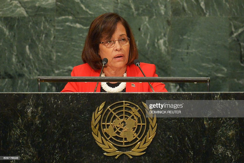 UN-GENERAL ASSEMBLY-MARSHALL ISLANDS : News Photo