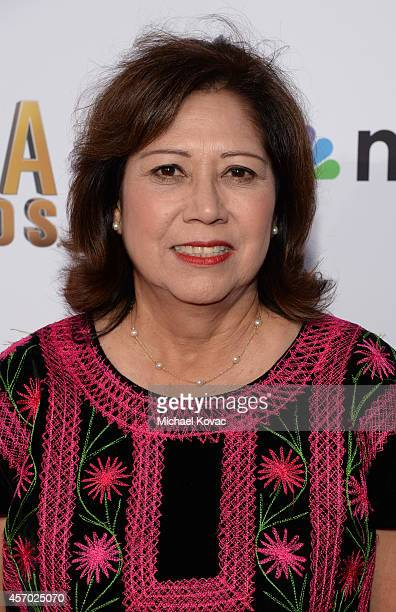 Hilda Solis of the Los Angeles County Board of Supervisors attends the 2014 NCLR ALMA Awards at the Pasadena Civic Auditorium on October 10 2014 in...