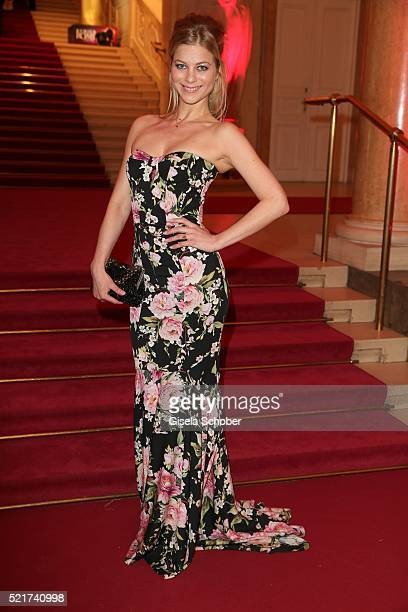 Hilde Dalik during the 27th ROMY Award 2015 at Hofburg Vienna on April 16 2016 in Vienna Austria