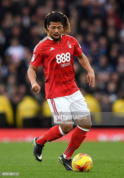 Hildeberto Pereira of Nottingham Forest during the Sky Bet Championship match between Derby County and Nottingham Forest at iPro Stadium on December...