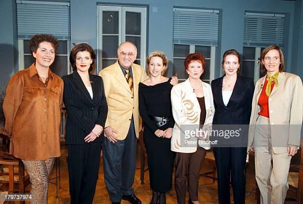 Hildegard mit Schwester Lotti KrekelBirgit Schrowange mit Schwester KarinEvens Bettina und Regine Röhl Alfred BiolekARDShow Boulevard Bio