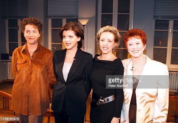 Hildegard mit Schwester Lotti KrekelBirgit Schrowange mit Schwester KarinEvens ARDShow Boulevard Bio
