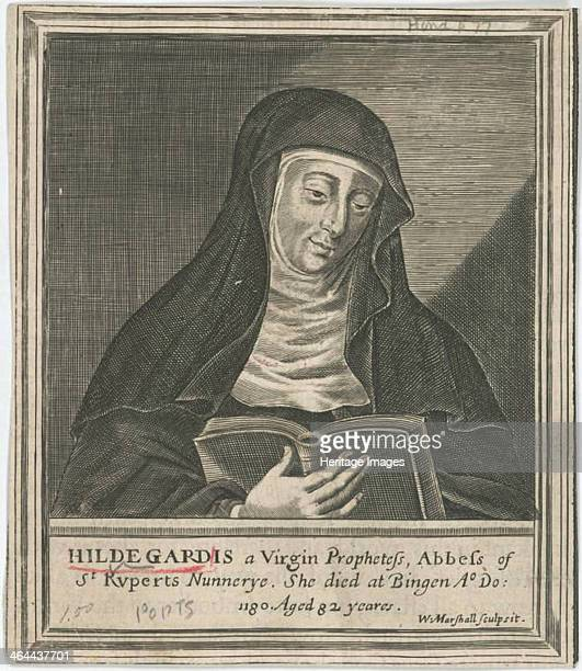 Hildegard of Bingen 17th century From a private collection