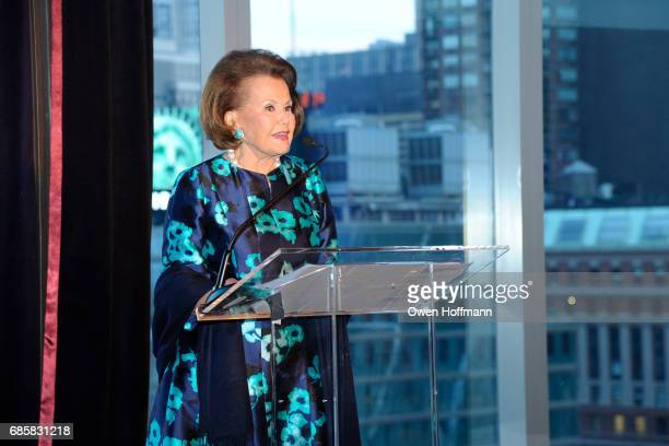 Hildegarde 'Hillie' Mahoney attends The Boys' Club of New York Annual Awards Dinner at Mandarin Oriental on May 17 2017 in New York City