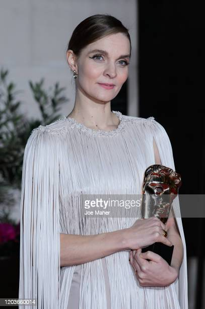 Hildur Guðnadóttir attends the EE British Academy Film Awards 2020 After Party at The Grosvenor House Hotel on February 02, 2020 in London, England.