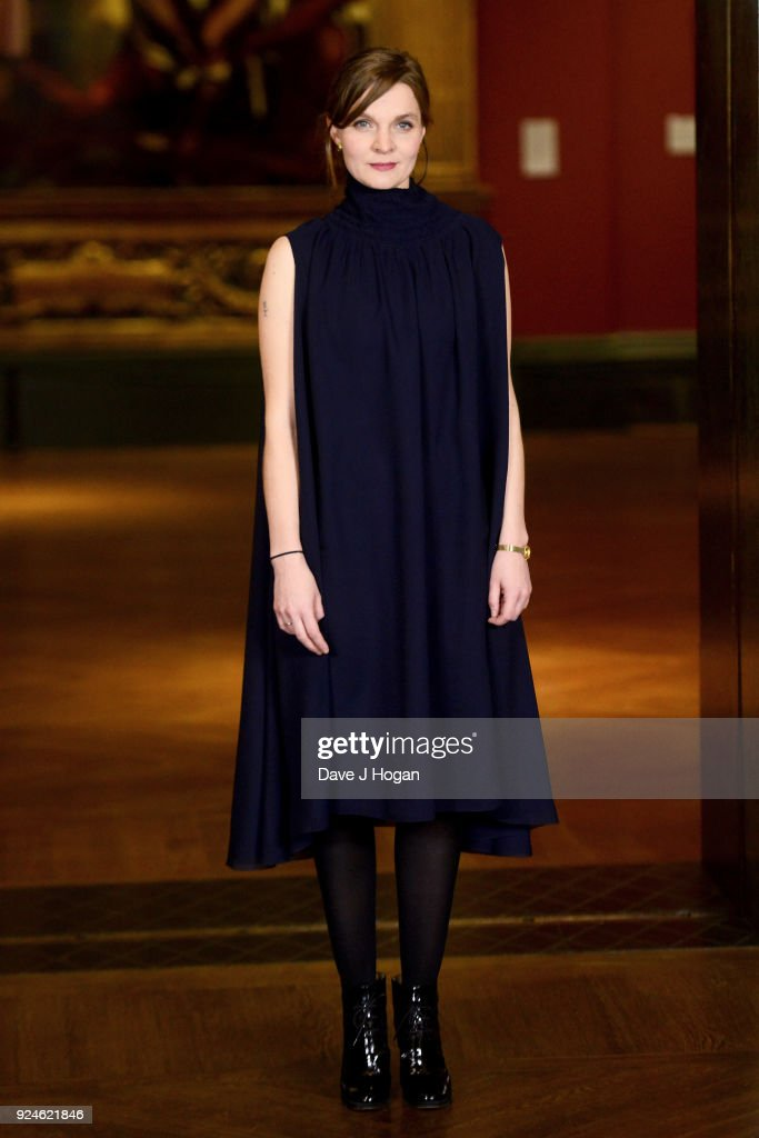 Hildur Guonadittir attends the 'Mary Magdalene' special screening held at The National Gallery on February 26, 2018 in London, England.