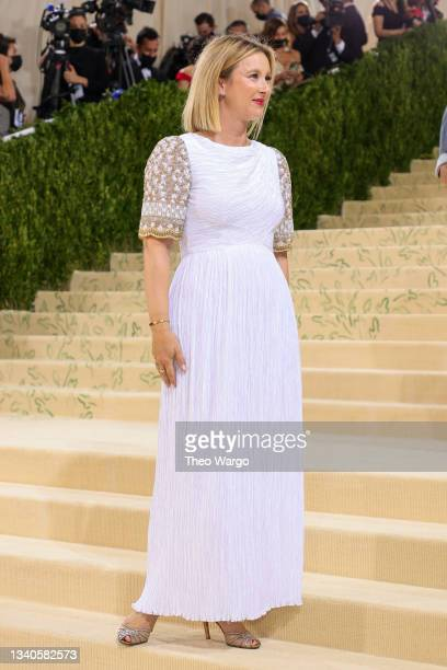 Hildy Kuryk-Bernstein attends The 2021 Met Gala Celebrating In America: A Lexicon Of Fashion at Metropolitan Museum of Art on September 13, 2021 in...