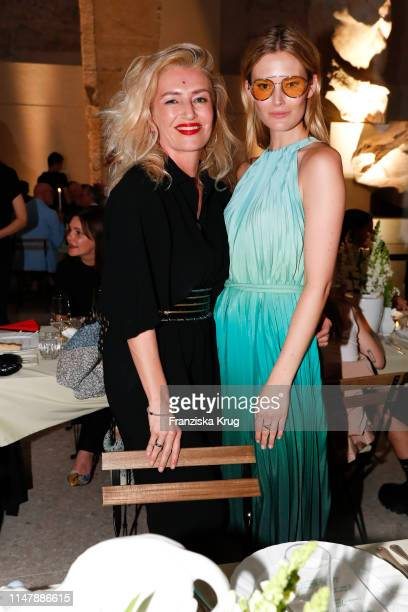 Hili Ingenhoven and Charlott Cordes during the Max Mara Resort 2020 Fashion Show at Neues Museum on June 3 2019 in Berlin Germany
