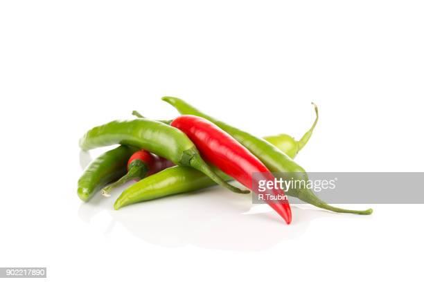 hili pepper isolated