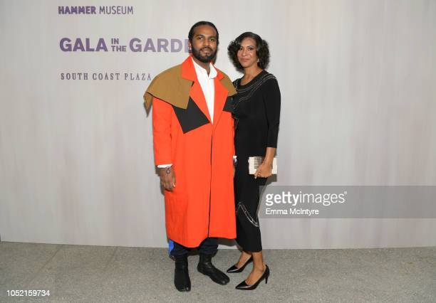 Hill and Karen Thompson attend the Hammer Museum 16th Annual Gala in the Garden with generous support from South Coast Plaza at the Hammer Museum on...