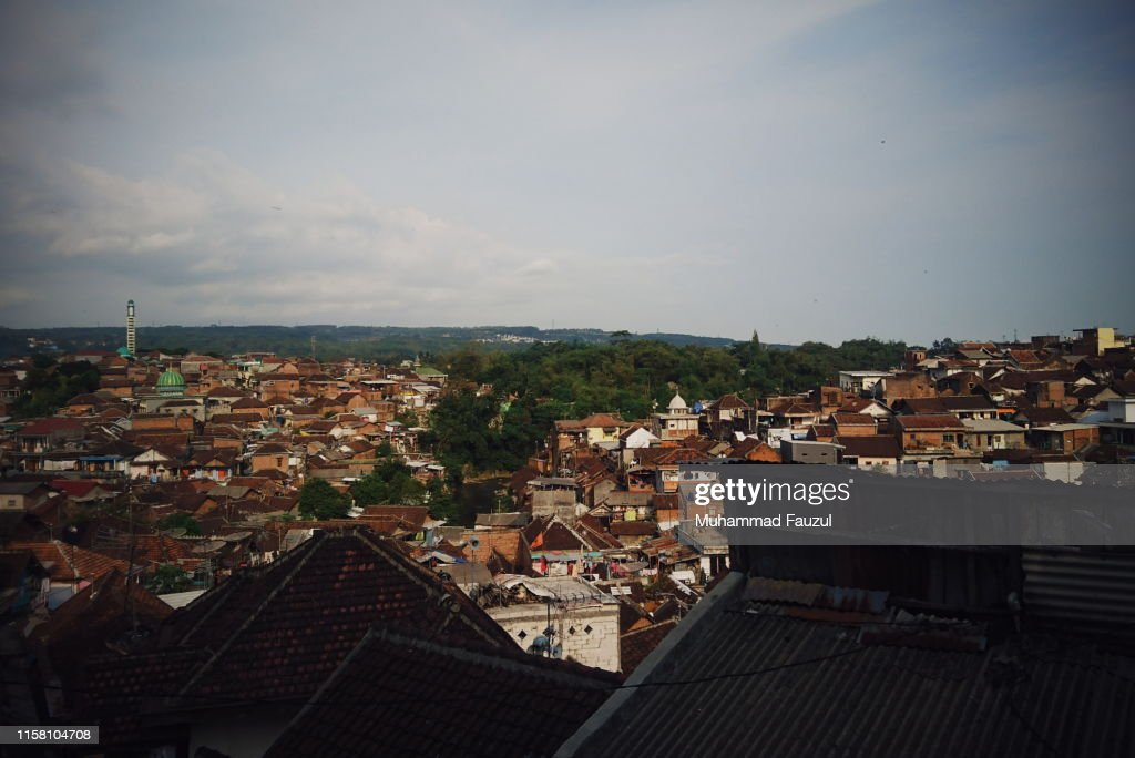 Hill Full Of Solid Houses In Malang City Of Indonesia High Res Stock Photo Getty Images