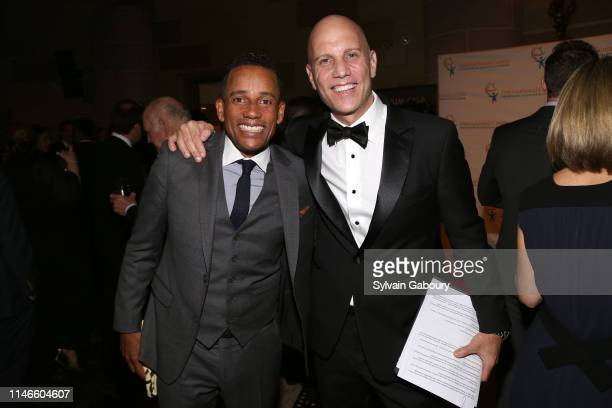Hill Harper and Paul Shapiro attend ICMEC Gala for Child Protection at Gotham Hall on May 02, 2019 in New York City.
