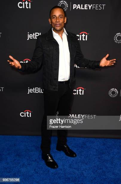 Hill Harper attends The Paley Center For Media's 35th Annual PaleyFest Los Angeles 'The Good Doctor' at Dolby Theatre on March 22 2018 in Hollywood...