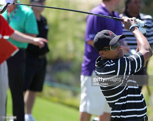 7efc6ad7214 Hill Harper competes in the 10th Annual Michael Jordan Celebrity  Invitational CelebrityAmateur Tournament Final Round hosted